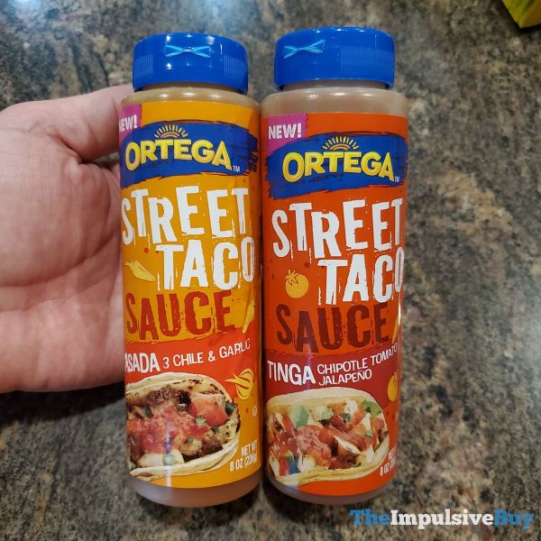 Ortega Street Taco Sauce  Asada and Tinga