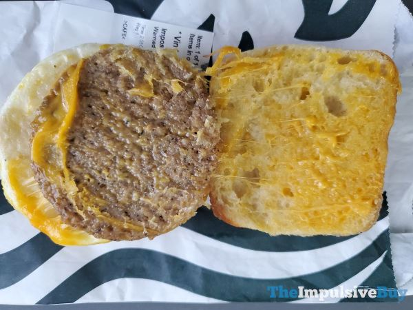 Starbucks Impossible Breakfast Sandwich Top
