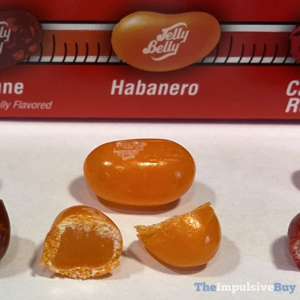 Jelly Belly Bean Boozled Fiery Five Challenge Habanero