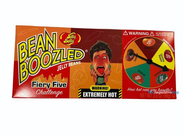 Jelly Belly Bean Boozled Fiery Five Challenge