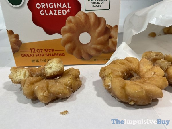Krispy Kreme Original Glazed Mini Crullers