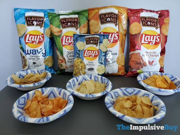 Lay s Flavor Icons Potato Chips 2