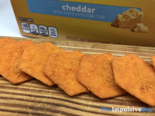 Ritz Cheddar Cheese Crispers
