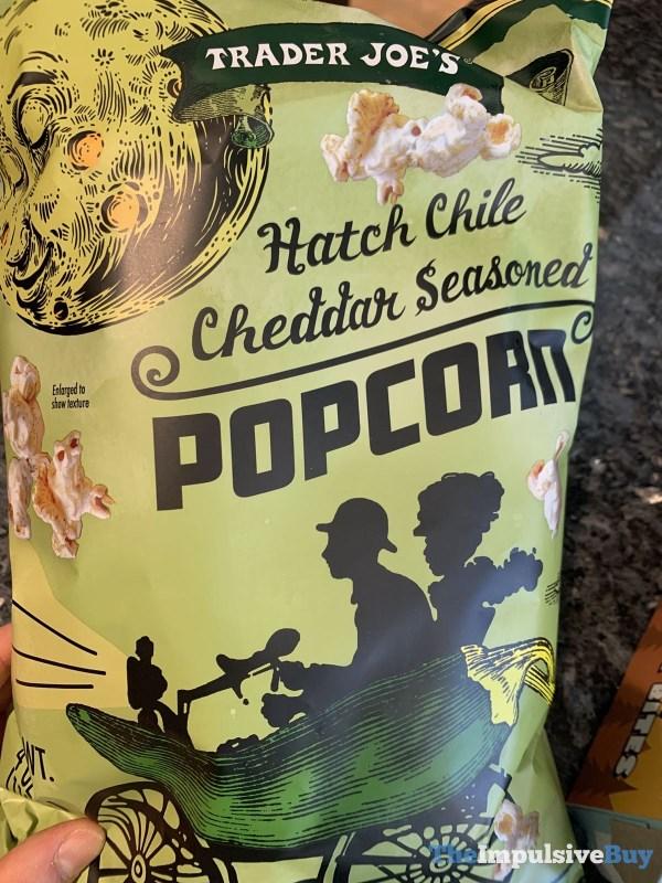 Trader Joe s Hatch Chile Cheddar Seasoned Popcorn
