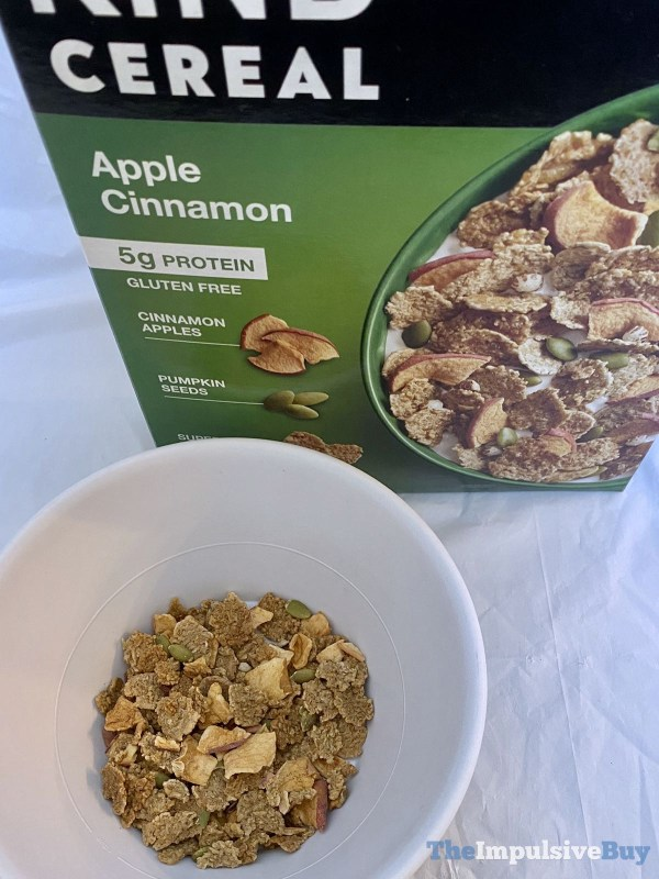 KIND Apple Cinnamon Cereal