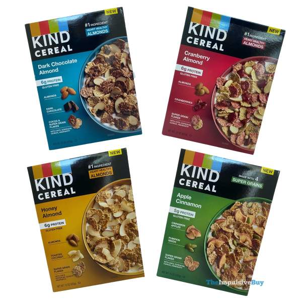 KIND Cereal Boxes