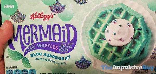 Kellogg s Blue Raspberry Mermaid Waffles