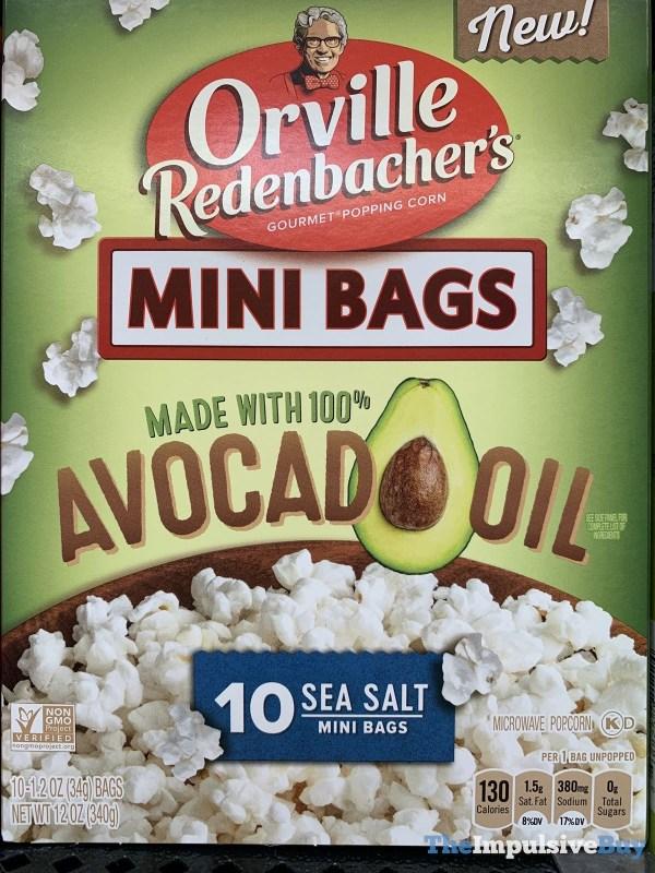 Orville Redenbacher s Mini Bags Made with 100 Avocado Oil