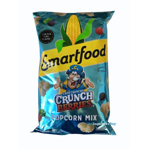 Smartfood Cap n Crunch s Crunch Berries Popcorn Mix Bag