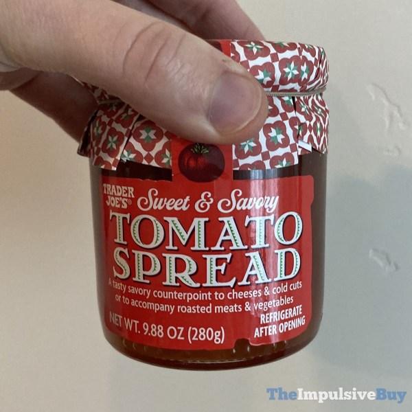 Trader Joe s Sweet  Savory Tomato Spread