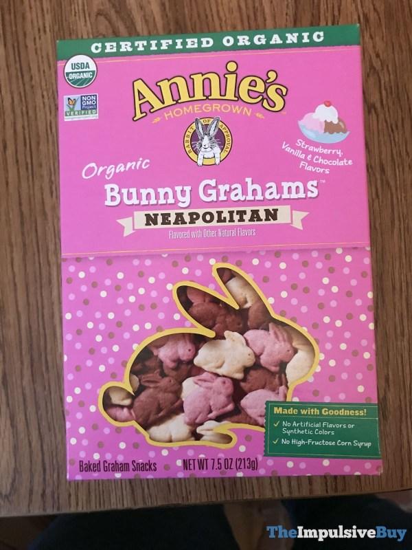Annie s Homegrown Organic Neapolitan Bunny Grahams