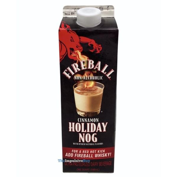 Fireball Cinnamon Holiday Nog Carton
