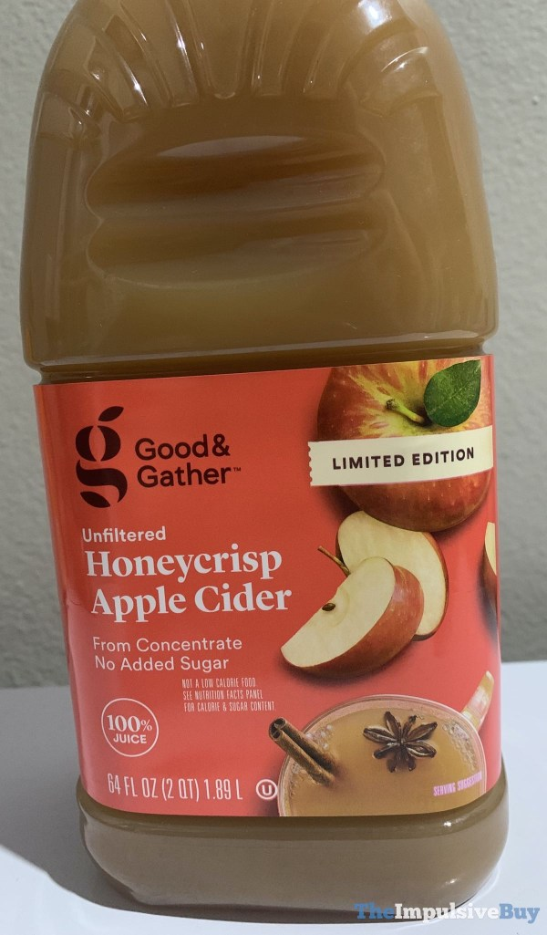 Good  Gather Limited Edition Unfiltered Honeycrisp Apple Cider