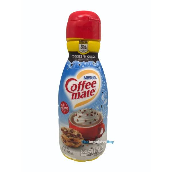 Nestle Coffee mate Nestle Toll House Cookies  N Cocoa Creamer Bottle