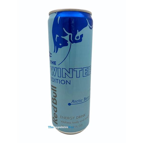 Red Bull Winter Edition Arctic Berry Can