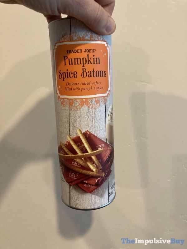 Trader Joe s Pumpkin Spice Batons