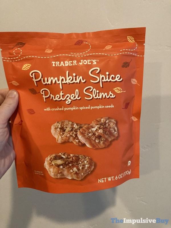 Trader Joe s Pumpkin Spice Pretzel Slims