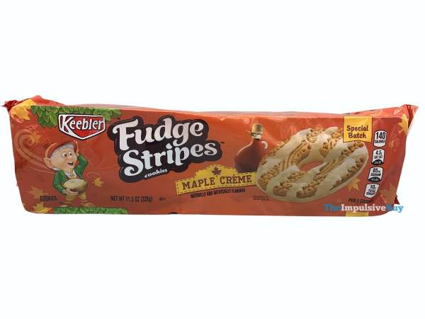 Keebler Special Batch Maple Creme Fudge Stripes Package