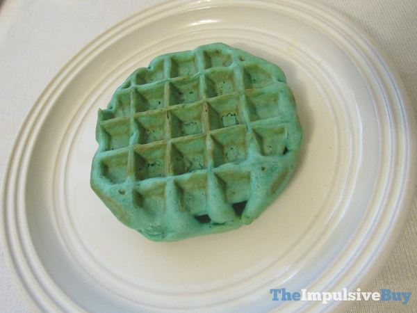 Kellogg s Mermaid Waffles Closeup