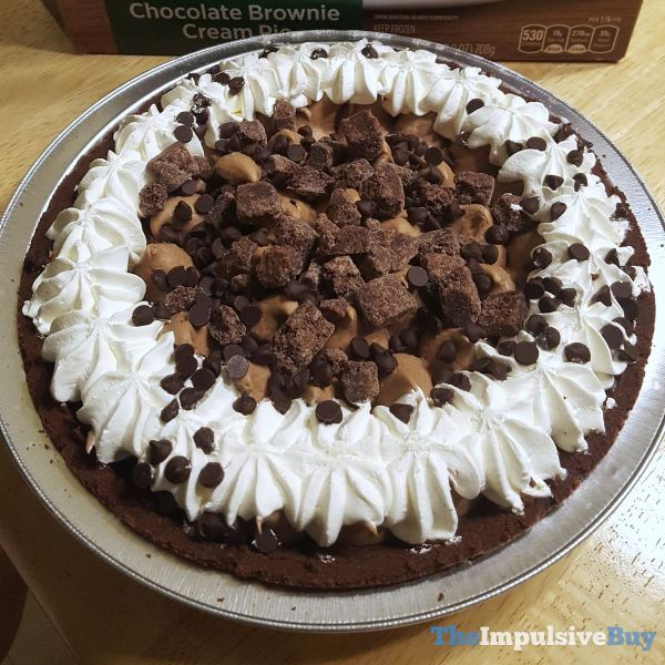 Marie Callender s Chocolate Brownie Cream Pie Full