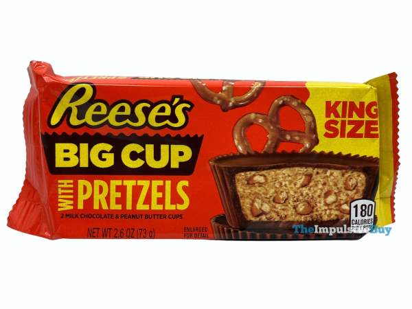 Reese s Big Cup with Pretzels Wrapper