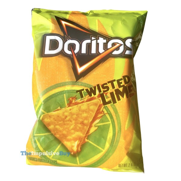 Twisted Lime Doritos Bag