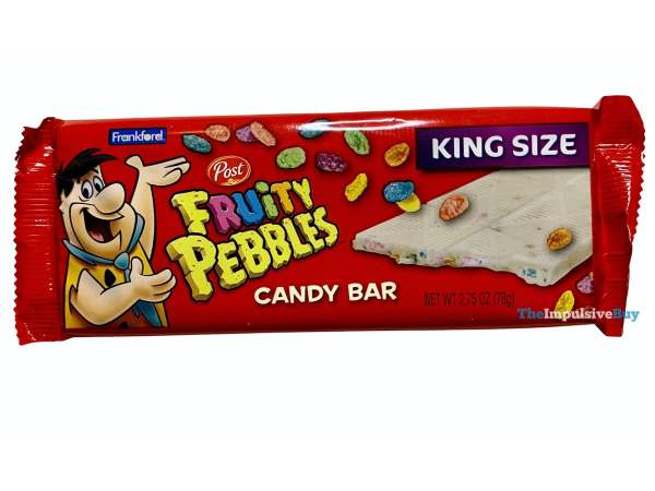Frankford Fruity Pebbles Candy Bar Wrapper