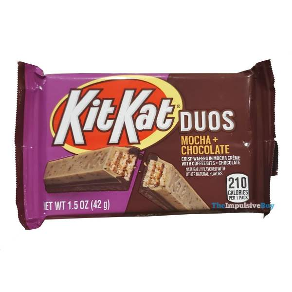 Kit Kat Duos Mocha + Chocolate Wrapper