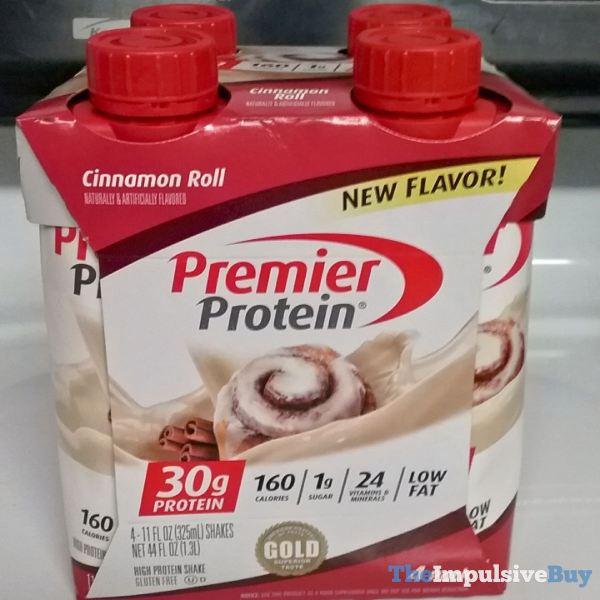 Premier Protein Cinnamon Roll High Protein Shake