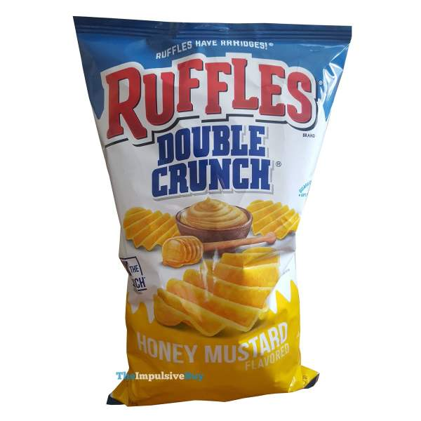 Ruffles Double Crunch Honey Mustard Potato Chips Bag