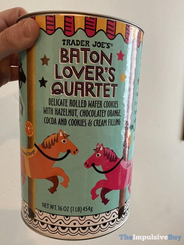 Trader Joe s Baton Lover s Quartet