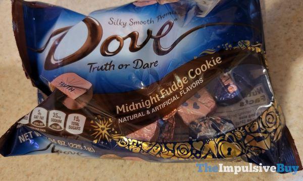 Dove Truth or Dare Midnight Fudge Cookie Promises