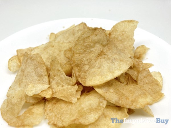 Lay s Salted Caramel Potato Chips Closeup