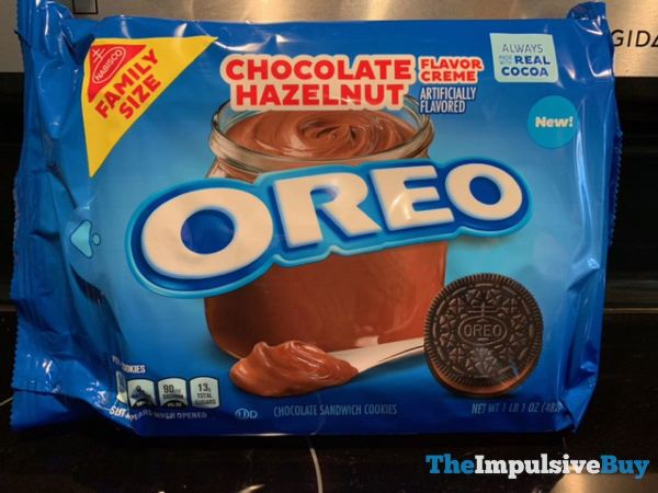Chocolate Hazelnut Oreo Cookies 2021