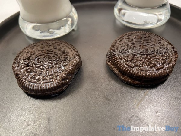 Gluten Free Oreo Cookies Side by Side