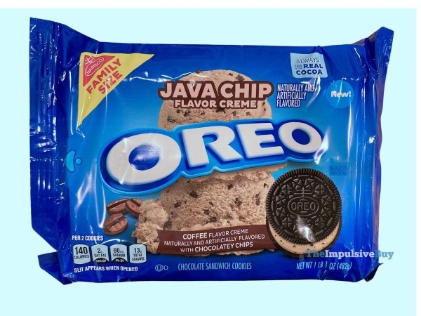Java Chip Oreo Cookies Package
