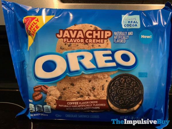 Java Chip Oreo Cookies