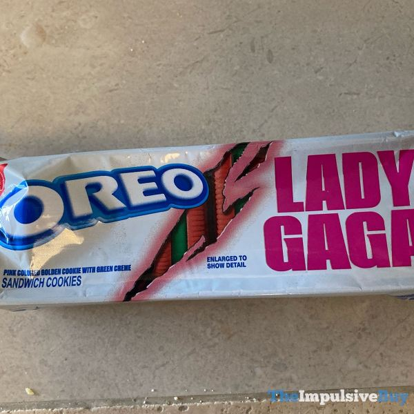 Lady Gaga Oreo Cookies