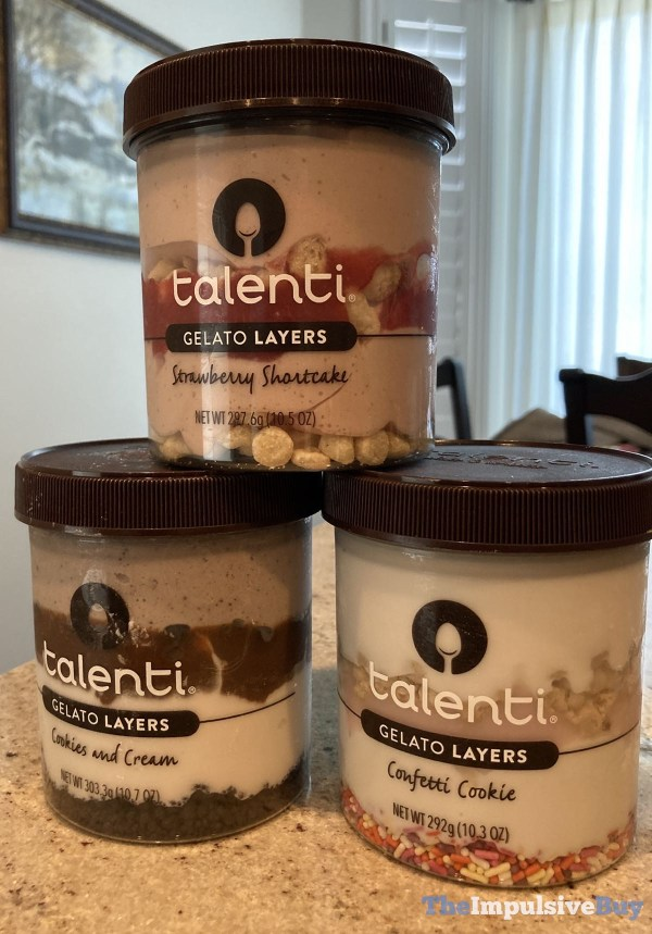 Talenti Gelato Layers Winter 2021 Flavors