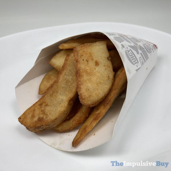 Jack in the Box Potato Wedges Plated