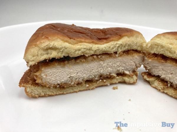 McDonald s Crispy Chicken Sandwich 2021 Split