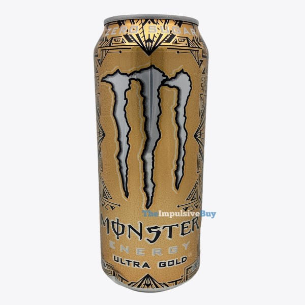 Monster Energy Ultra Gold Can
