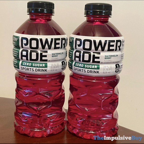 Powerade Zero Sugar Watermelon Berry Sport Drink