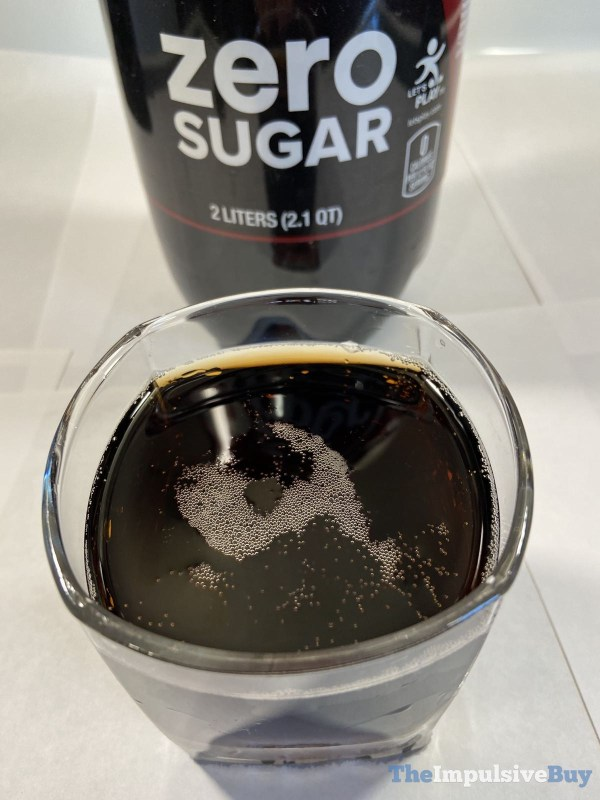Dr Pepper Zero Sugar Closeup