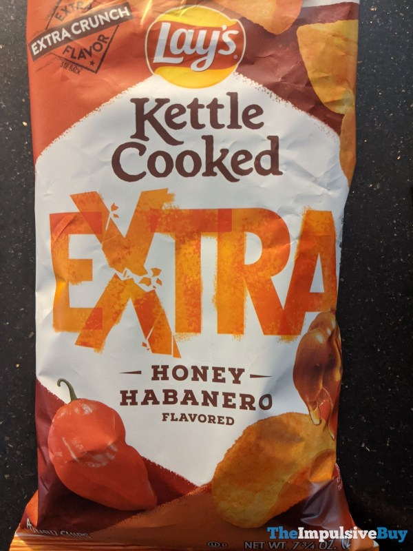 Lay s Kettle Cooked Extra Honey Habanero
