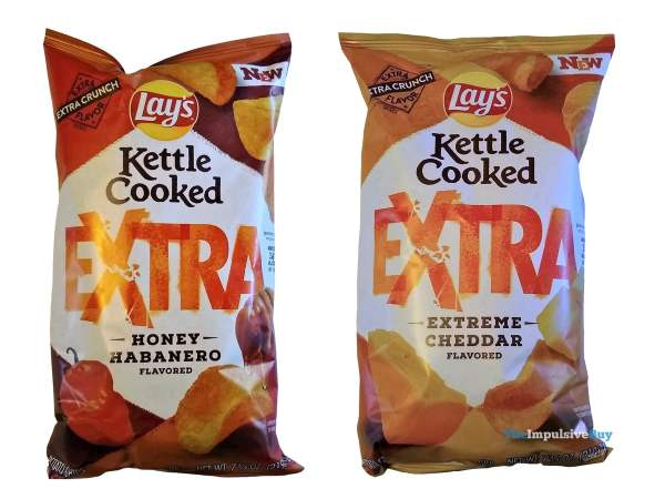 Lay s Kettle Cooked Extra Potato Chips Bags