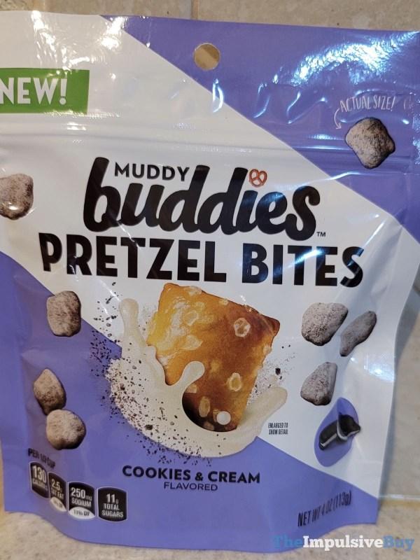 Muddy Buddies Cookies  Cream Pretzel Bites