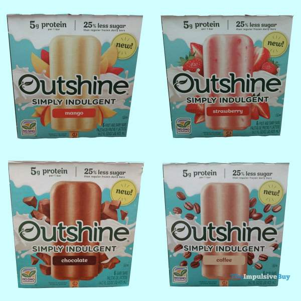 Outshine Simply Indulgent Bars Boxes