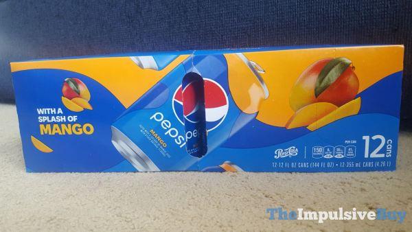 Pepsi Mango  2021 Box