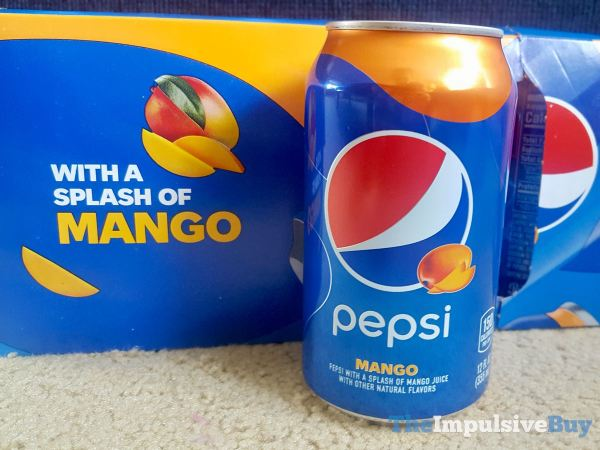 Pepsi Mango  2021 Can
